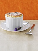 Mandarin orange soufflé