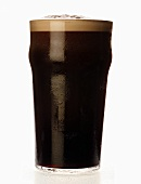 A glass of stout, England