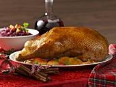Roast goose for Christmas