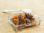 Apricot chutney with pecans and star anise