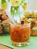 Orange marmalade with cinnamon
