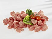 Diced veal (for goulash)
