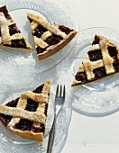 Crostata di visciole (Sour cherry tart, Italy)