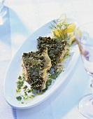 Carpa regina in porchetta (Baked carp, Italy)