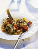 Anguilla in umido (Braised eel, Italy)