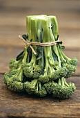 A bunch of broccoli