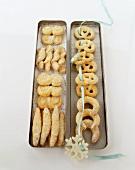 Vanilla-flavoured sugar biscuits