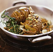 Roasted potatoes with nut butter