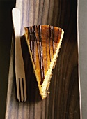 Chocolate mango cheesecake