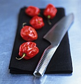 Red chillies (Caribbean Red Hot)