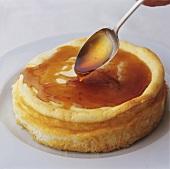 Yoghurt cheesecake with honey
