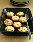 Provençal-style baked tomatoes
