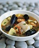 Zuppa di pesce (fish soup), Apulia, Italy