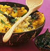 Dhal with cauliflower (India)