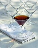 Drink: perfect Manhattan