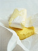 Butter in paper