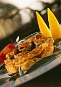 Shellfish tart