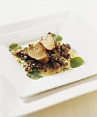 Veal sweetbreads with morels