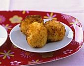Suppli al telefono (Rice balls with mozzarella filling, Italy)