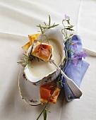 Vellutata di parmigiano (Parmesan cream soup, Italy)