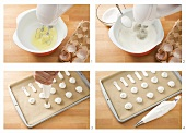Making meringue decorations