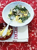 Pizzoccheri with Swiss chard and potatoes