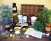 Herbs for the medicine cabinet