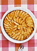 Tarte Normande (Normandy-style apple tart)