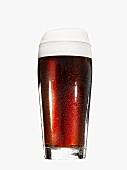 A glass of malt beer