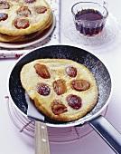 Damson pancake