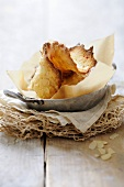 Tuiles aux amandes (French waffles)
