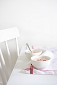 Iced radish soup