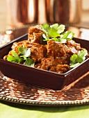 Chicken tikka masala with coriander (Indian)