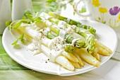 Asparagus with Bechamel sauce