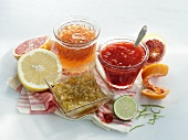 Blood orange, lime and grapefruit marmalade