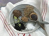 Spices for baking bread