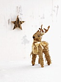 Christmas decorations: a deer and a star