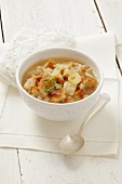 Bread soup with onions