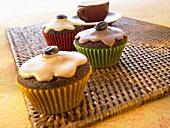 Chocolate espresso muffins