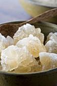 Sugar crystals (close-up)