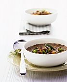 Lentil soup with ham (from the Palatinate)