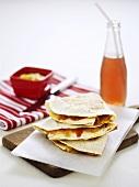 Mexican cheese tortilla