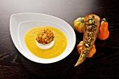 Crema di zucca al Marsala (Pumpkin puree with Marsala, Italy)