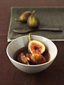 Figs in port wine