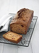 Pear and raspberry bread