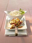 Gong Bao (Hähnchenbrust mit Erdnüssen, China)
