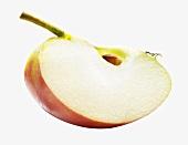 Apfelschnitz mit Stiel und Kern
