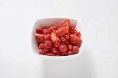 Beeren, gewaschen und geputzt
