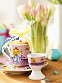 Easter sweets in a cup (for children)