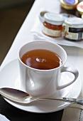 Cup of tea for breakfast